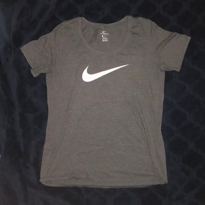 Grey woman's Nike T-shirt